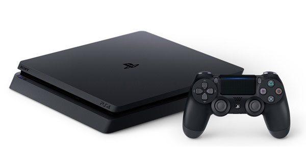 پلی استیشن 4 اسلیم مدل Playstation 4 Slim Region 2 ظرفیت 1 ترابایت