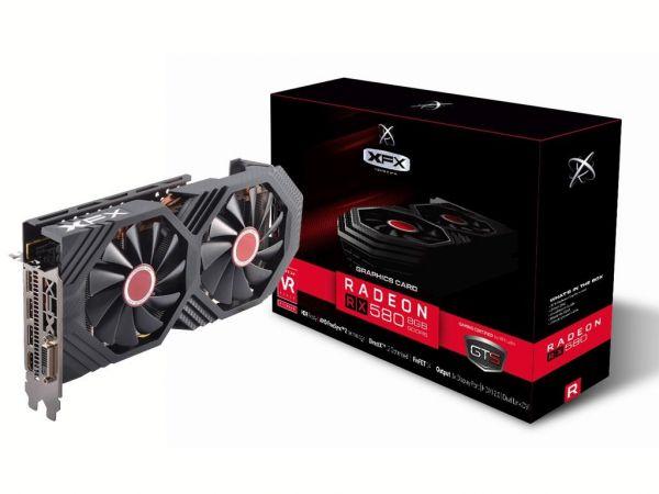 کارت گرافیک ایکس اف ایکس مدل XFX Radeon RX 580 8GB GDDR5